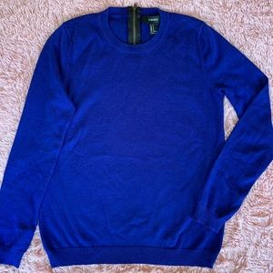 Small Forever 21 Blue Pull Over Sweater
